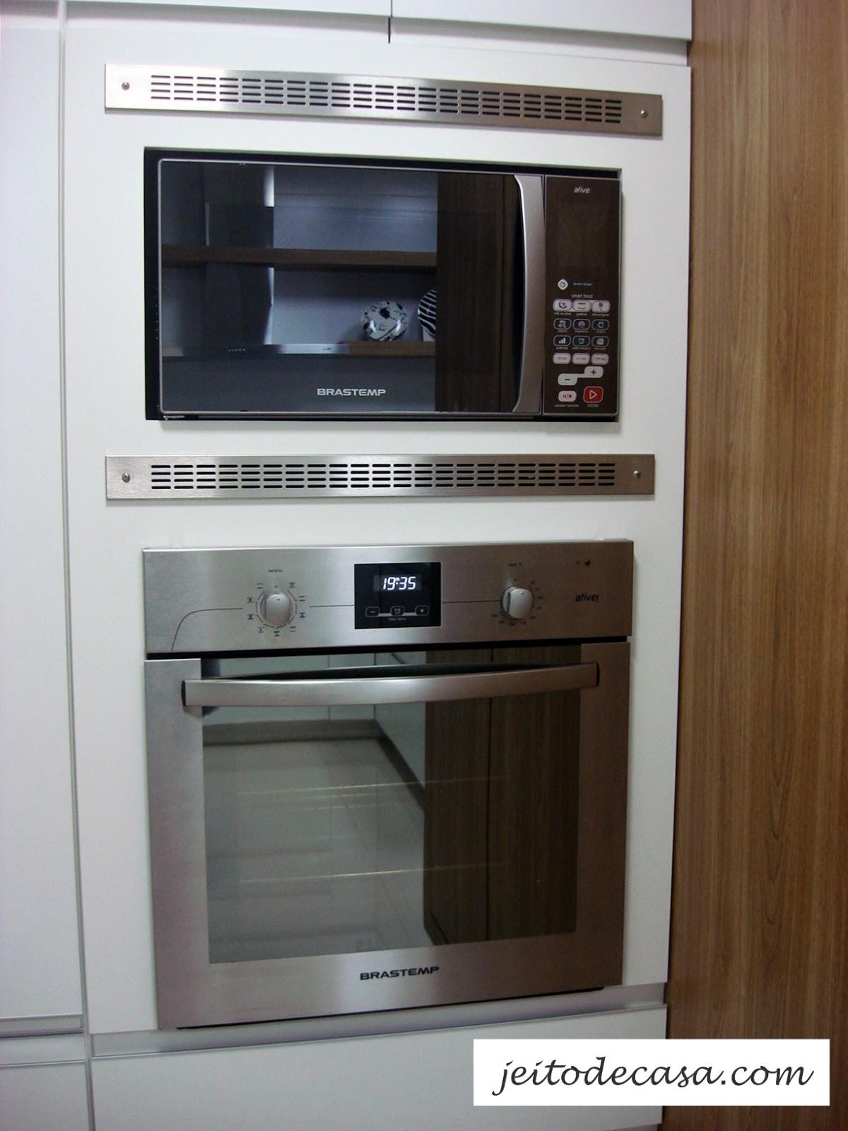 Forno Para Cozinha Cozinhas Pequenas E Funcionais Redecorando Sua