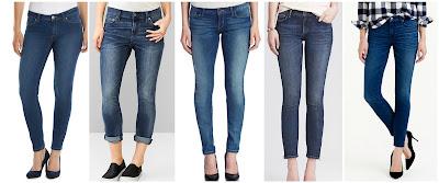 LC Lauren Conrad Jeggings $36.99 (regular $50.00)  Gap 1969 Girlfriend Jeans $45.00 (regular $69.95)   Guess Mid Rise Skinny Jeans $68.60 (regular $98.00)   Banana Republic Skinny Ankle Jean $88.00 (regular $98.00)  J. Crew Toothpick Cone Denim Jeans $89.99 (regular $125.00)