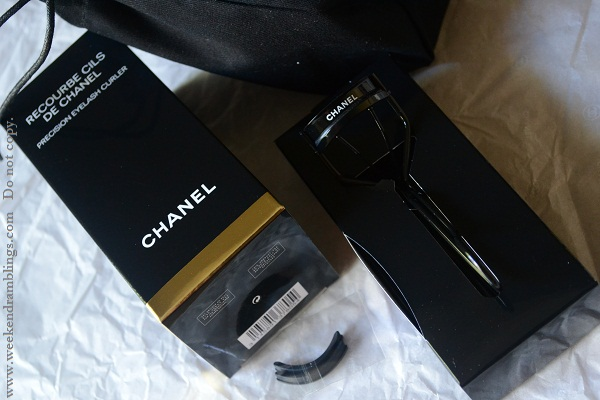 recourbe cils de chanel precision eyelash curler reviews sophisticated eye collection limited edition