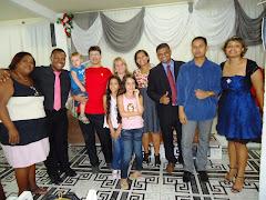 Eduarda louvando ao Senhor na Igreja Assembleia de Deus ministério Jardim Redentor - Pr. José Paulo