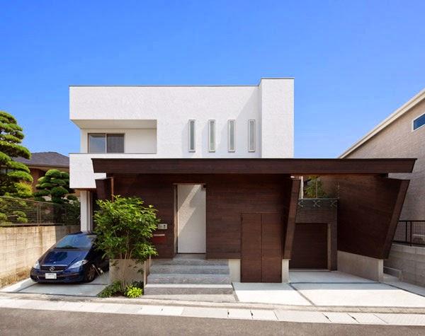 arquitectura moderna japonesa de casa