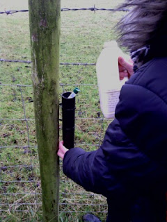 Fill the tube with water cache