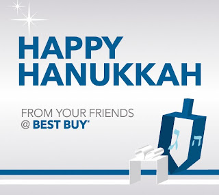 Happy Hanukkah from your friends at Best Buy