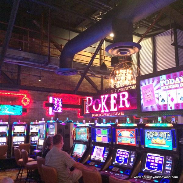 interior of Downtown Grand Casino in Las Vegas, Nevada