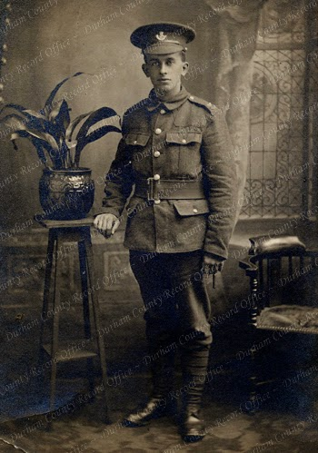 Private Robert Constantine, October 1914 (D/DLI 7/137/54)