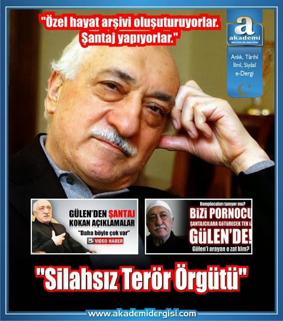 """Devletin gizli belgelerinde Gülen Cemaati """"Silahsız Terör Örgütü"""" olarak geçmiş."""