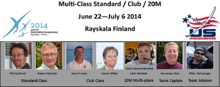 33rd  FAI Multi-Class WGC Standard, Club, 20m
