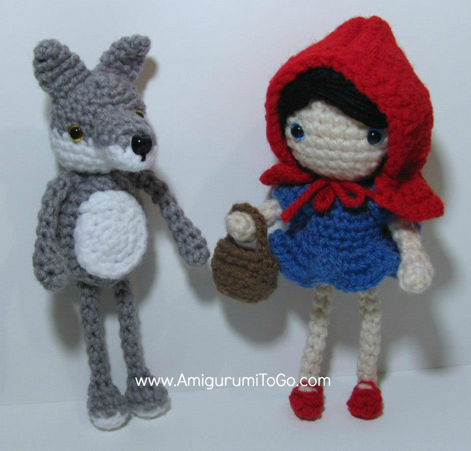 Amigurumi To Go Free Patterns : Little Red Riding Hood Free Pattern ~ Amigurumi To Go