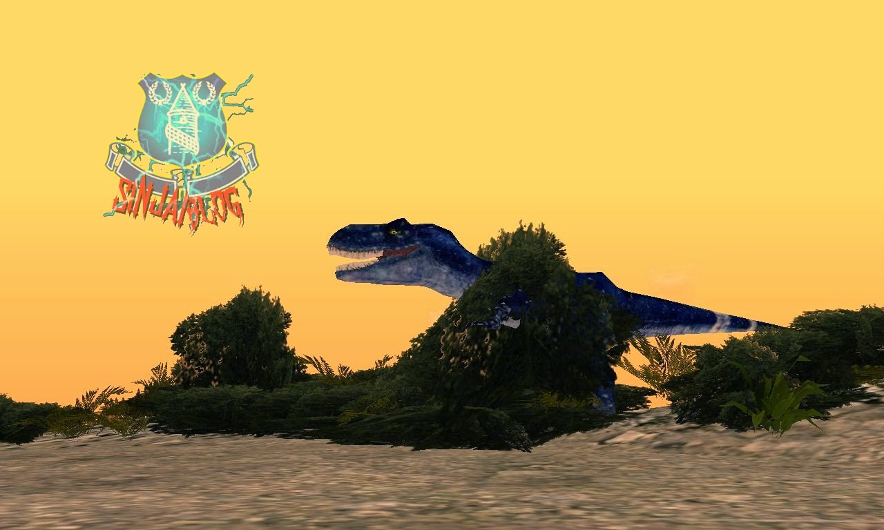 Download MOD Gta SA - Attack Of Dinosaurus