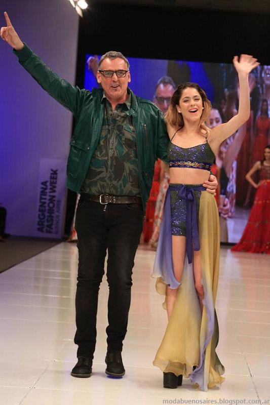 Benito Fernandez primavera verano 2015. Argentina Fashion Week primavera verano 2015. Moda.