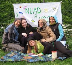 das nuadPARK-team in sommerlicher pose
