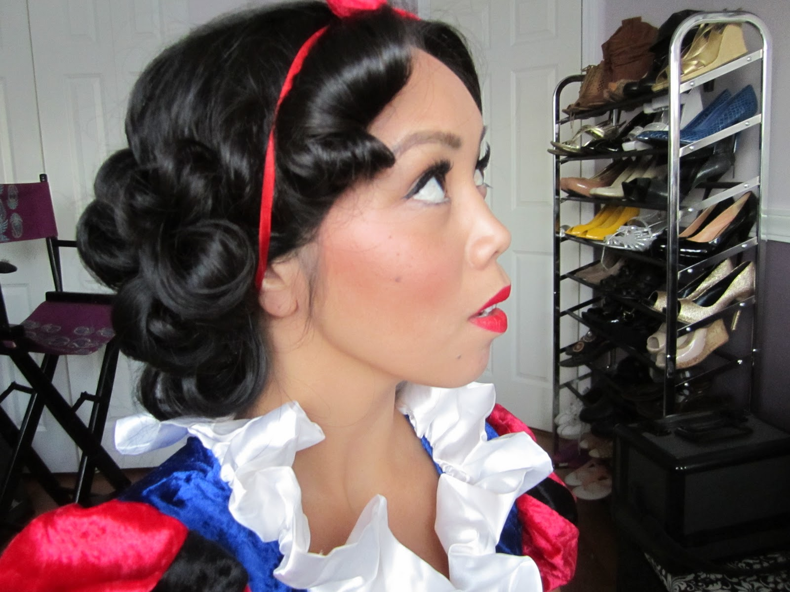 Snow white hair tutorial drugstore its judy time baditri Choice Image