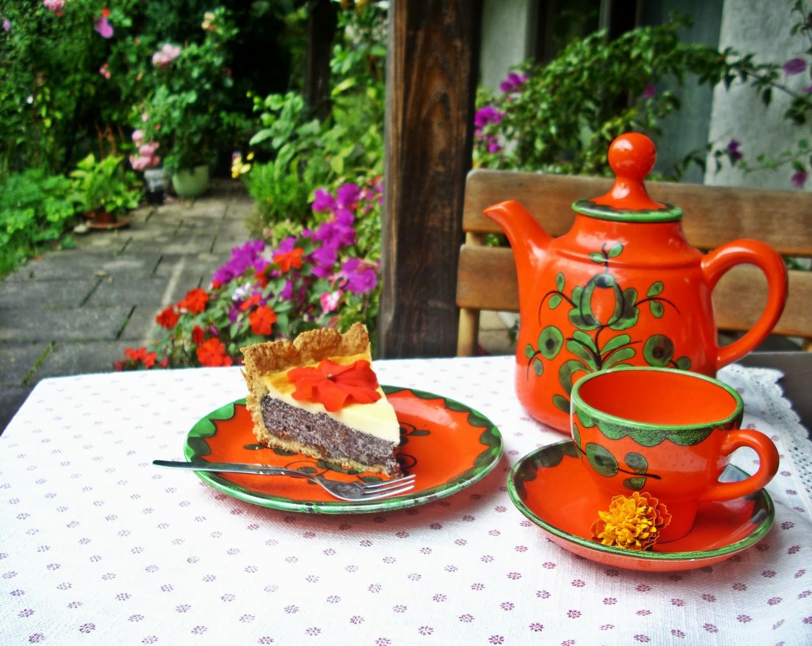 Weltbester Mohnkuchen mit Rumrosinen und Schmandguss