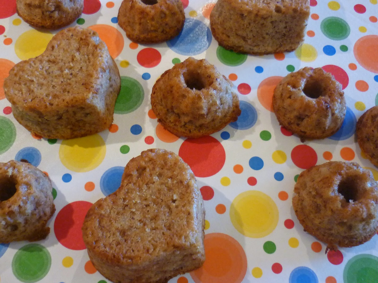 Sommerliche Mini Gugelhupf / Muffins