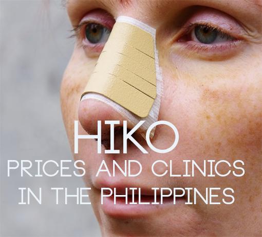 hiko nosejob philippines