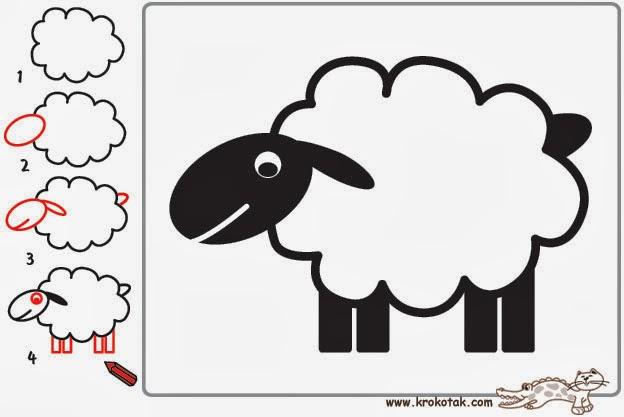 - Mouton a dessiner ...