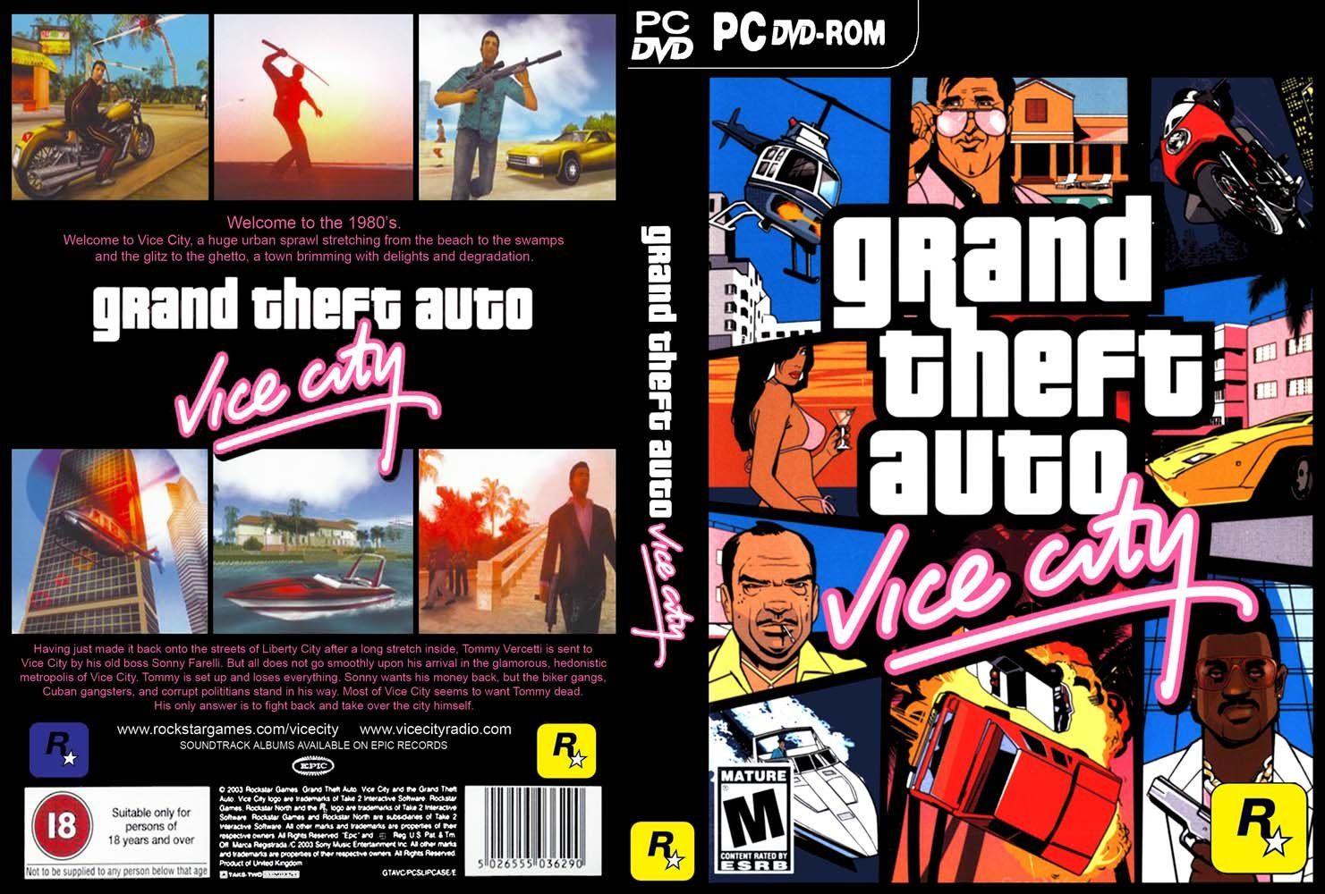 GTA Vice City [Iso] [Full] [Espanol]