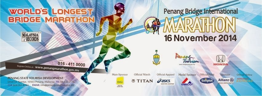 16 Nov - Penang Bridge International Marathon 2014