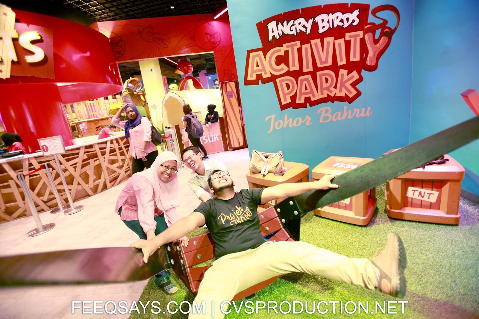 Angry Birds Activity Park Johor Bahru Malaysia indoor theme park