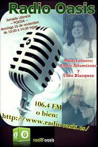 SonLetras en Radio Oasis