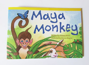 Maya Monkey: illustrated by me.