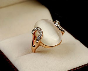 Opal Inlay Rings Luxury