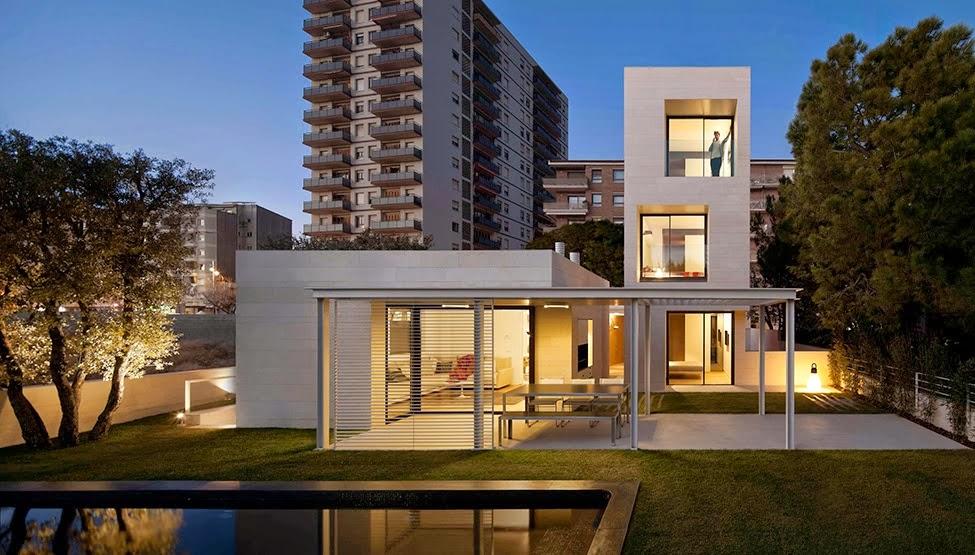 10 Desain Rumah bentuk Kotak Kubus Gambar 3 & 10 Desain Rumah bentuk Kotak Kubus | Griya Inspiratif