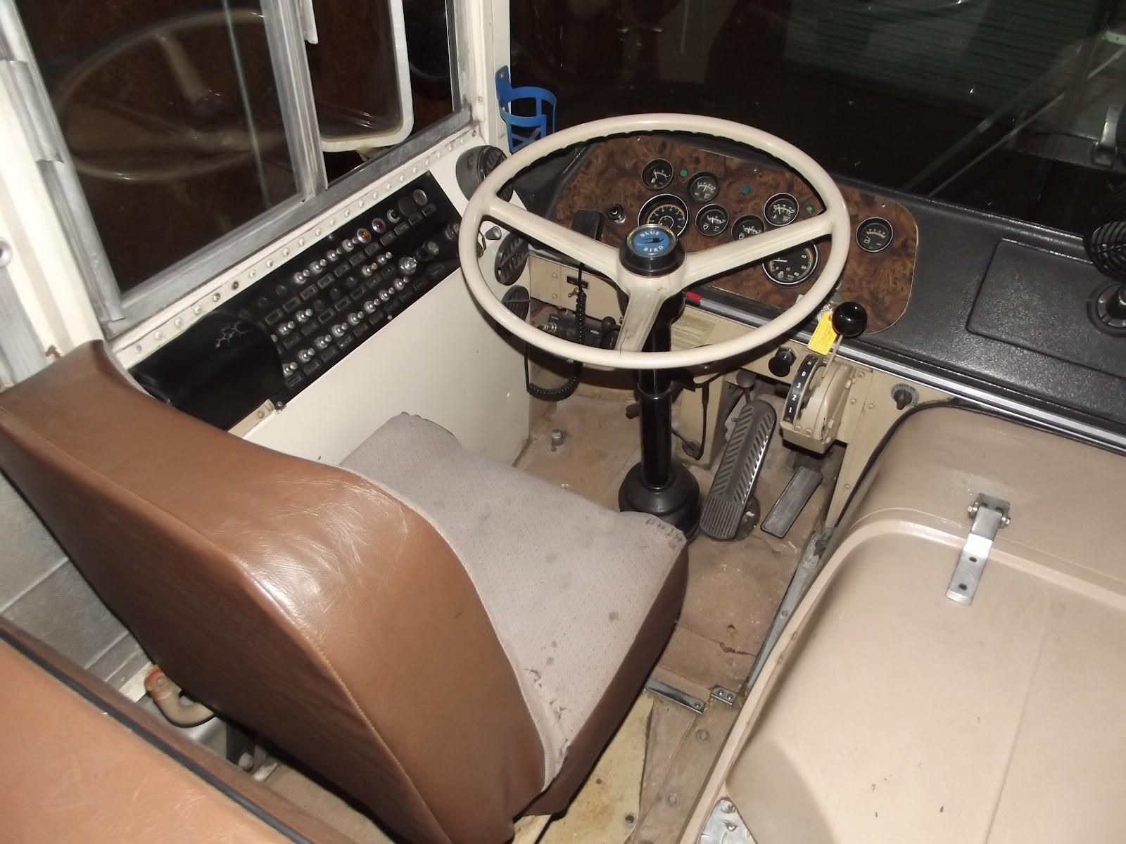 Bluebird bus fuse box panel cover