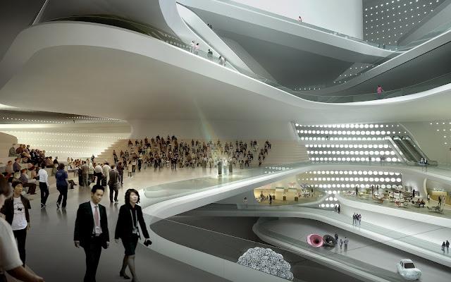 Photo of brilliant interiors designed as terraces and balconies