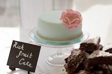 Vintage cake tables
