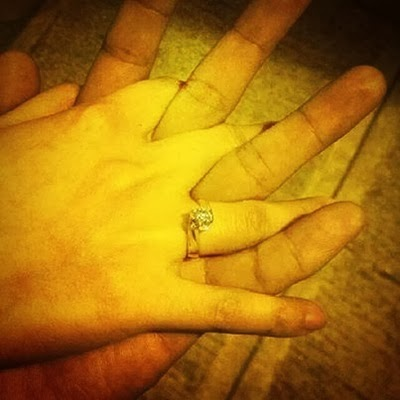 Yeng Constantino engagement ring