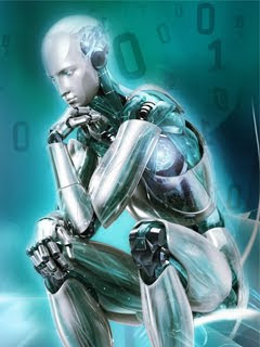 robot 240x320 wallpaper