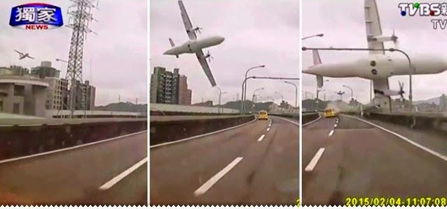 Hipernovas: Queda de Avião em Taiwan Capturada em Vídeo! (Vídeo)