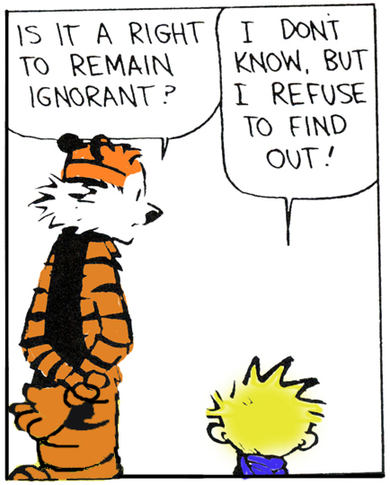 Ignorance 