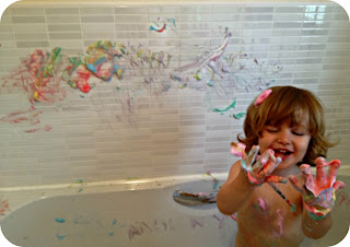 messy play toddler