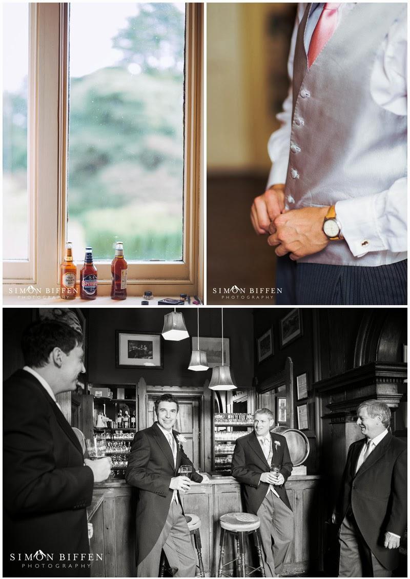 Huntsham Court groom preparations