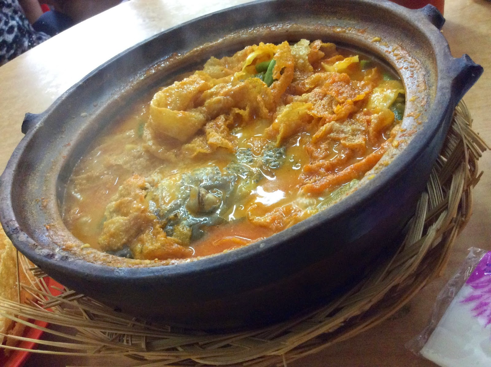 幸福 • HappinesS : Kam Long Curry Fish Head