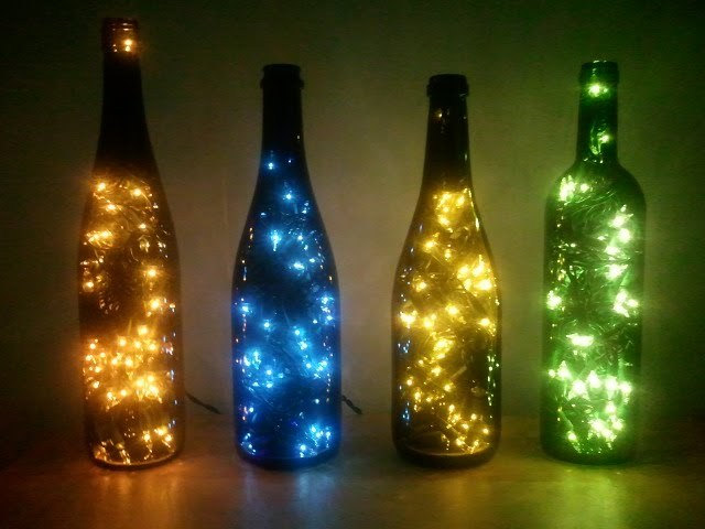 but anyways my father promised to try to make the whole under the bottle so now i have to buy christmas light and hope that will work