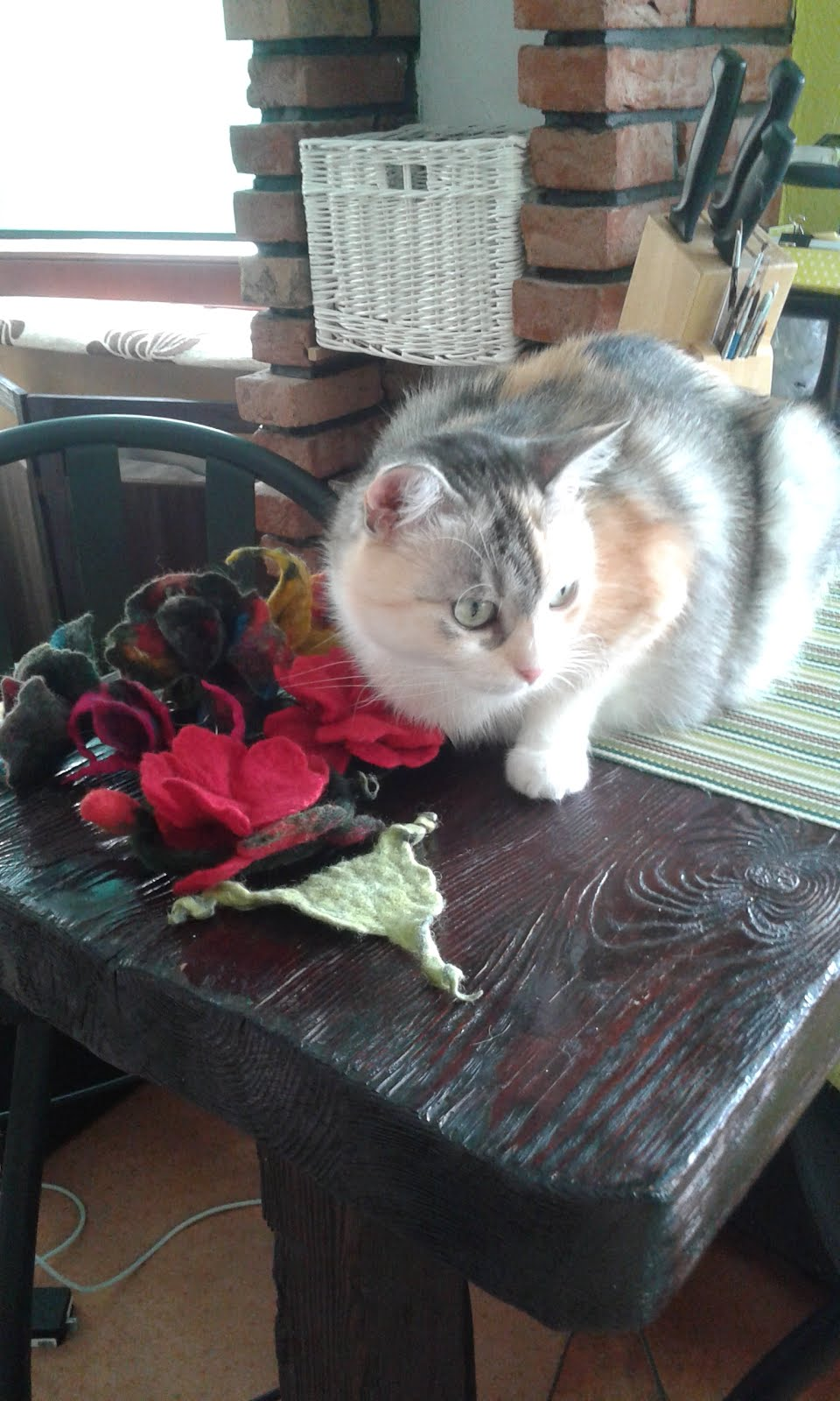 W filcowaniu pomaga: Lilu