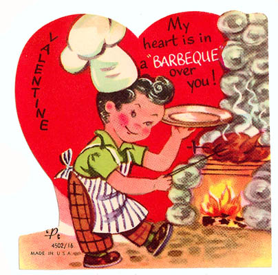 vintage everyday Funny Vintage Valentine Cards Meat and Weapons – Images of Vintage Valentine Cards