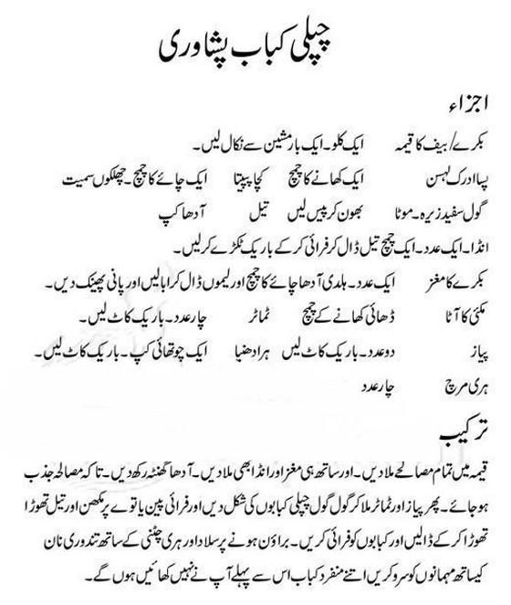 coking philospher chapli kabab pishawari recipe in urdu