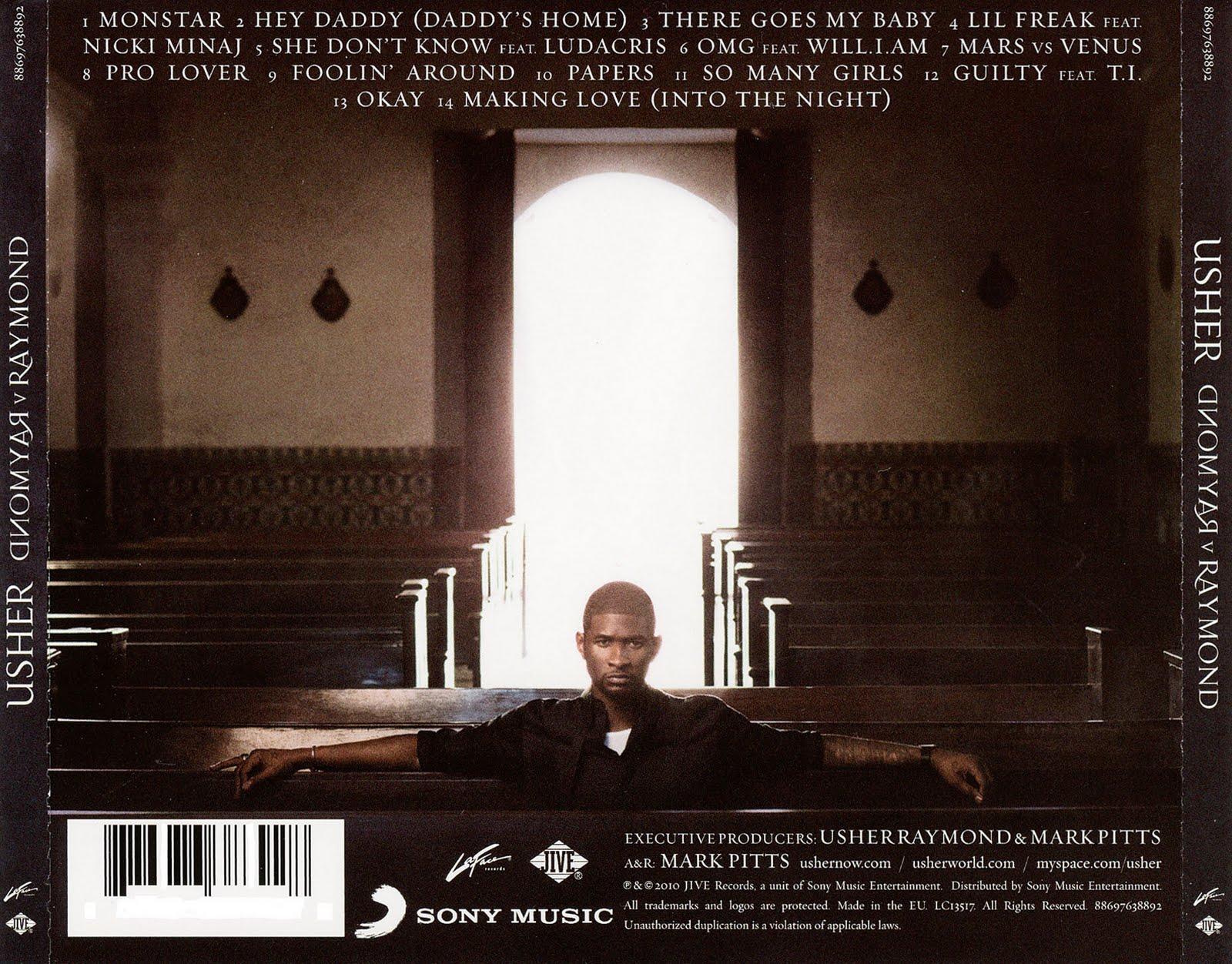 Usher raymond music