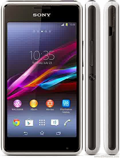 Spesifikasi Harga Sony Xperia E1 Dual-SIM