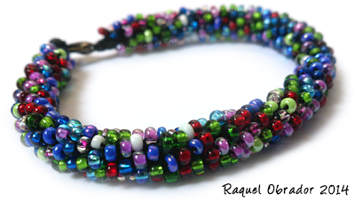 pulsera, beads, abalorios