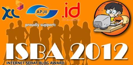 Internet Sehat Blog Award 2012