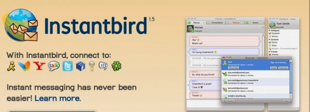 The Instantbird IM tool will be the basis of the Tor Project's new anonymizing IM client.