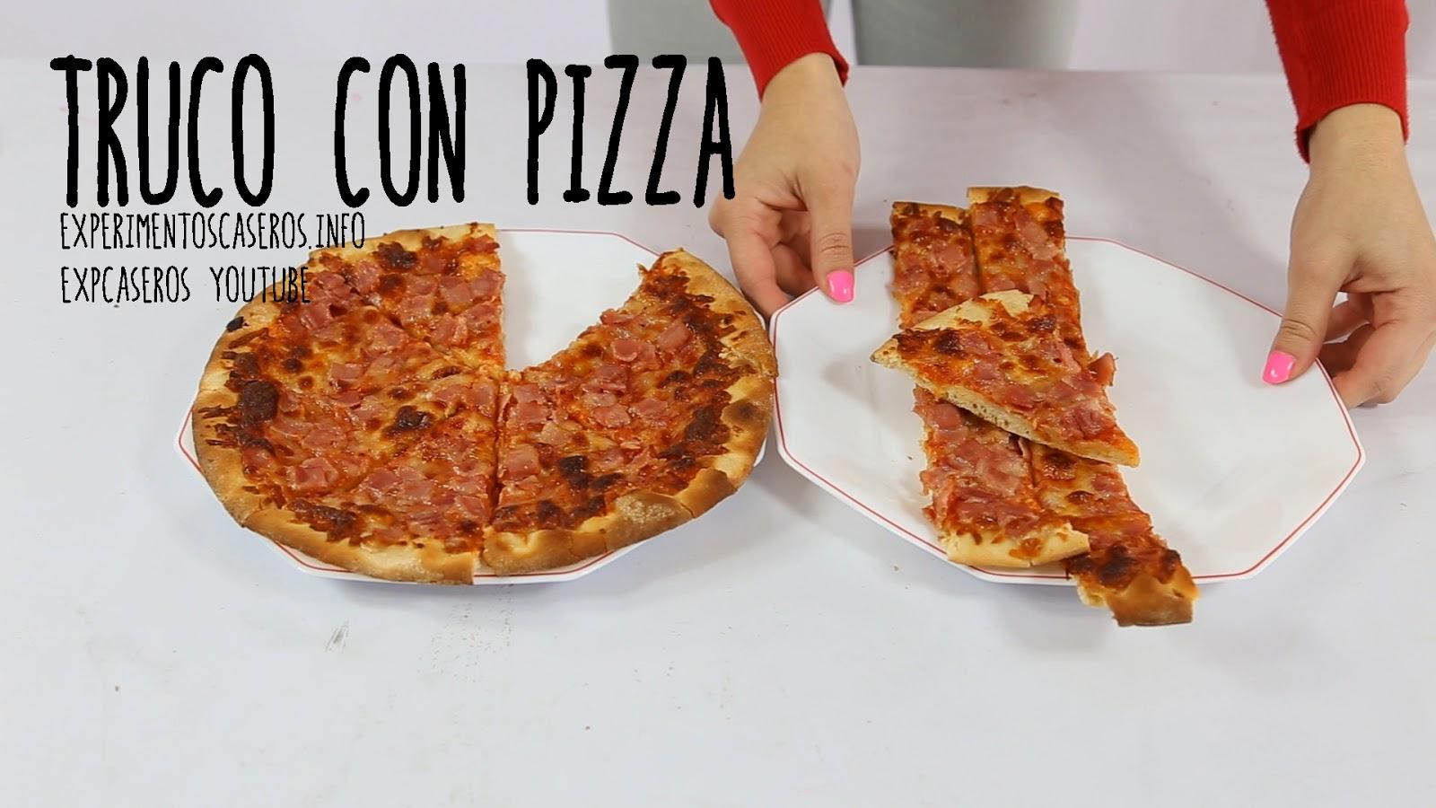 Cómo quedarte con el trozo de pizza más grande, experimentos caseros, experimento casero, experimentos, experimento, experimentos sencillos, experimentos fáciles, ciencia, ciencia en casa, experimentos de ciencia, experimentos de física, experimentos de química, experimentos para niños, experimentos caseros para niños, feria de ciencias, tarea de física, cómo robar pizza sin que te pillen, cómo robar pizza sin que se entere nadie, cómo robar pizza sin que se den cuenta, How to Steal Pizza