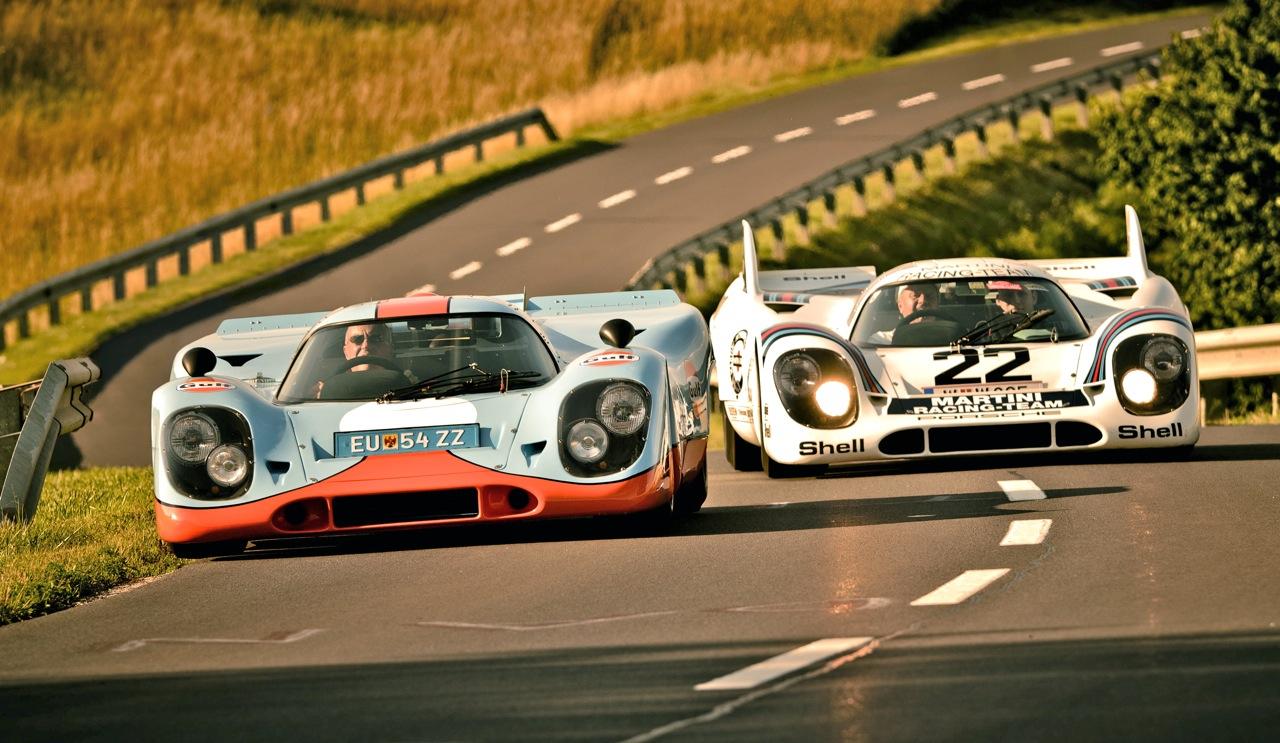 Photos of the Porsche 917 road