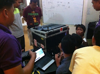 audio engineering training hands on