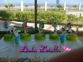 Doki centerpieces decoration for children parties
